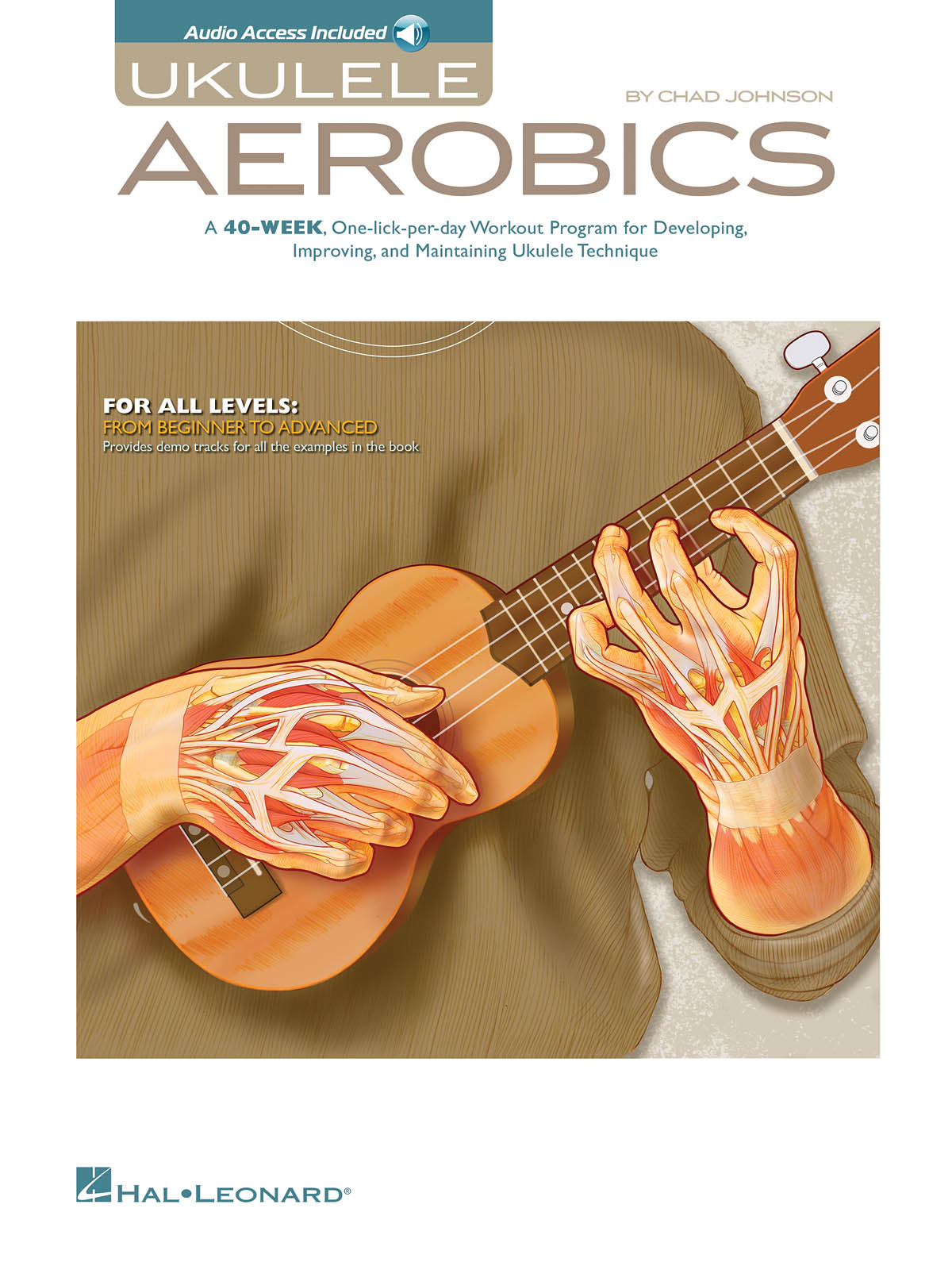 Ukulele Aerobics For All Levels: Ukulele Solo: Instrumental Tutor