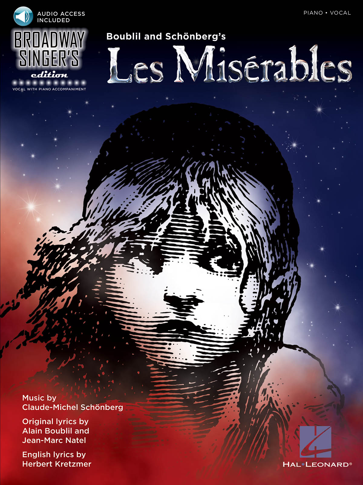 Alain Boublil Claude-Michel Schönberg: Les Miserables - Broadway Singer's
