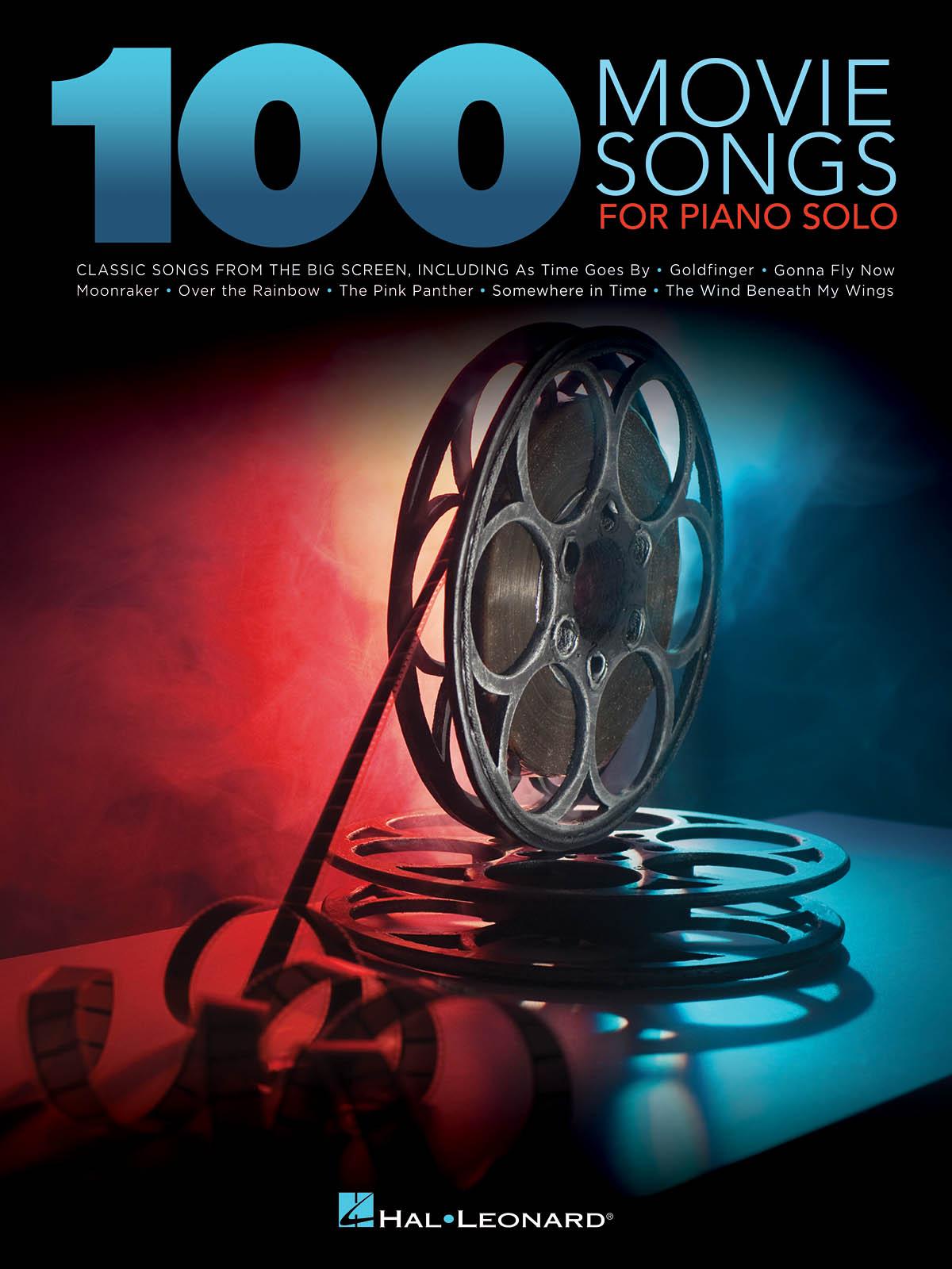 100 Movie Songs for Piano Solo: Piano: Instrumental Album