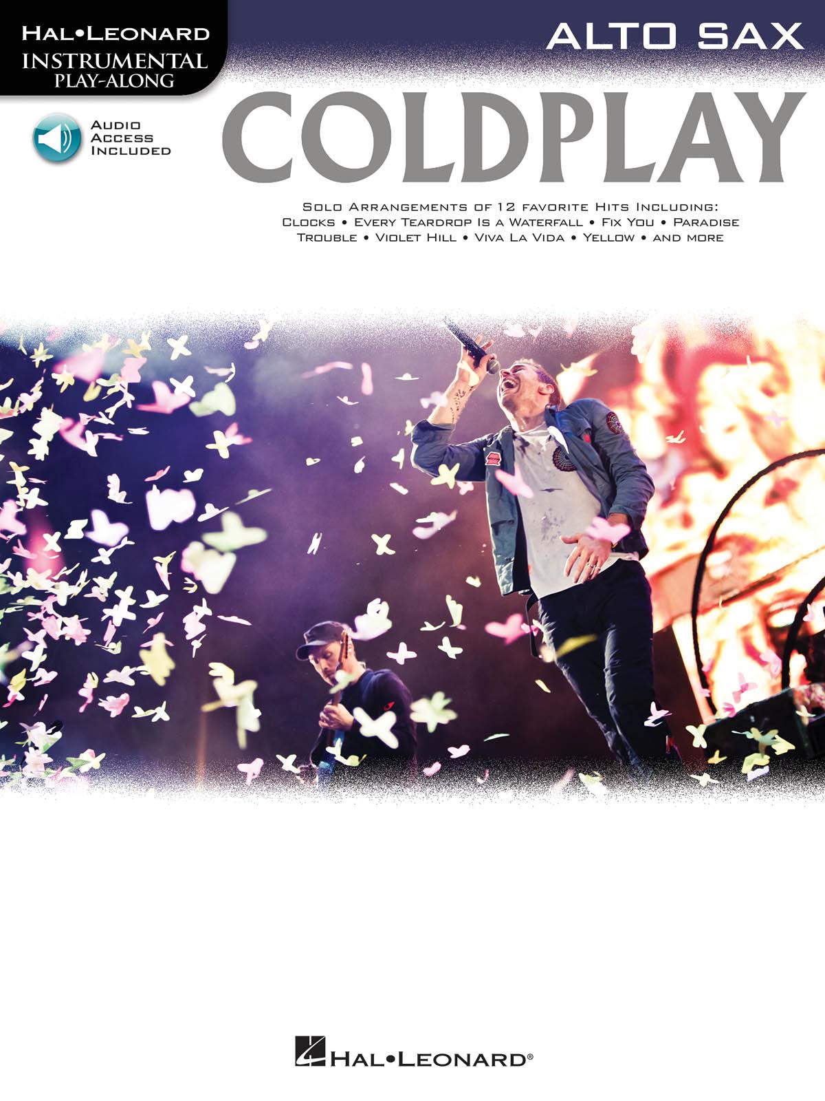 Coldplay: Coldplay: Alto Saxophone: Instrumental Album