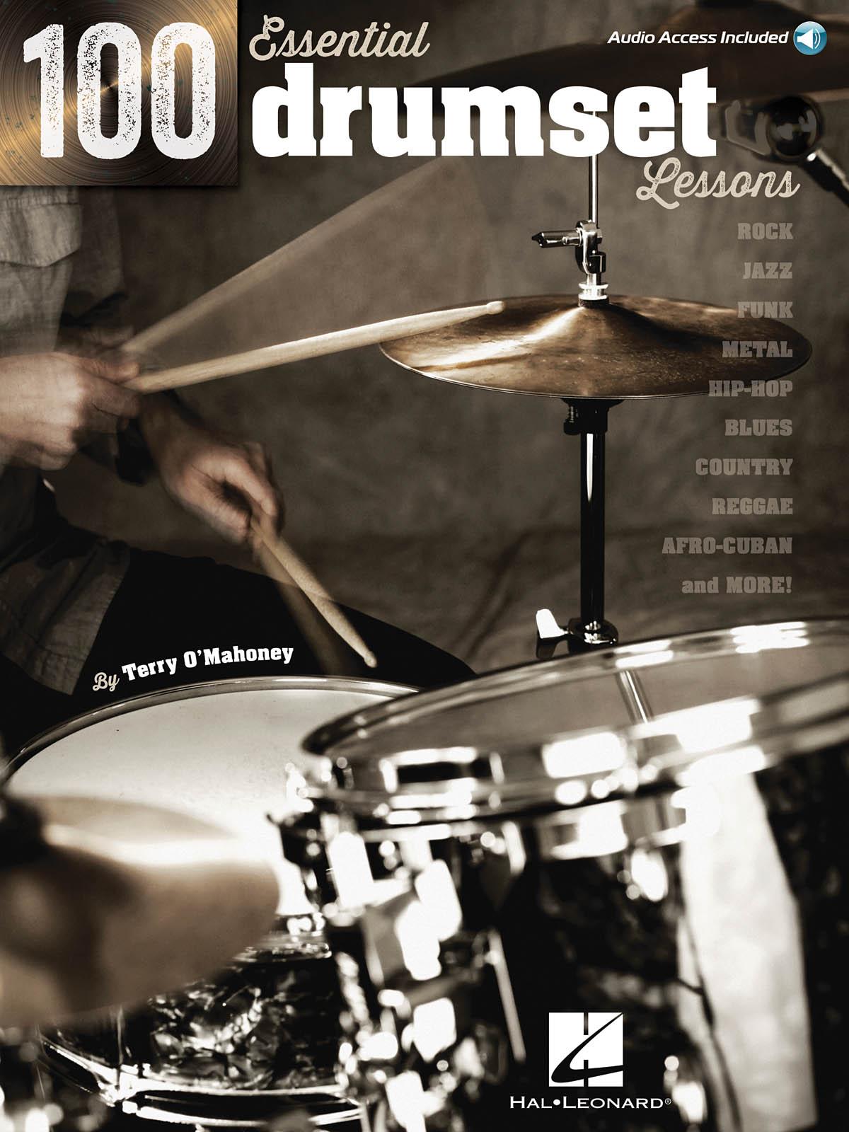 100 Essential Drumset Lessons: Drums: Instrumental Tutor