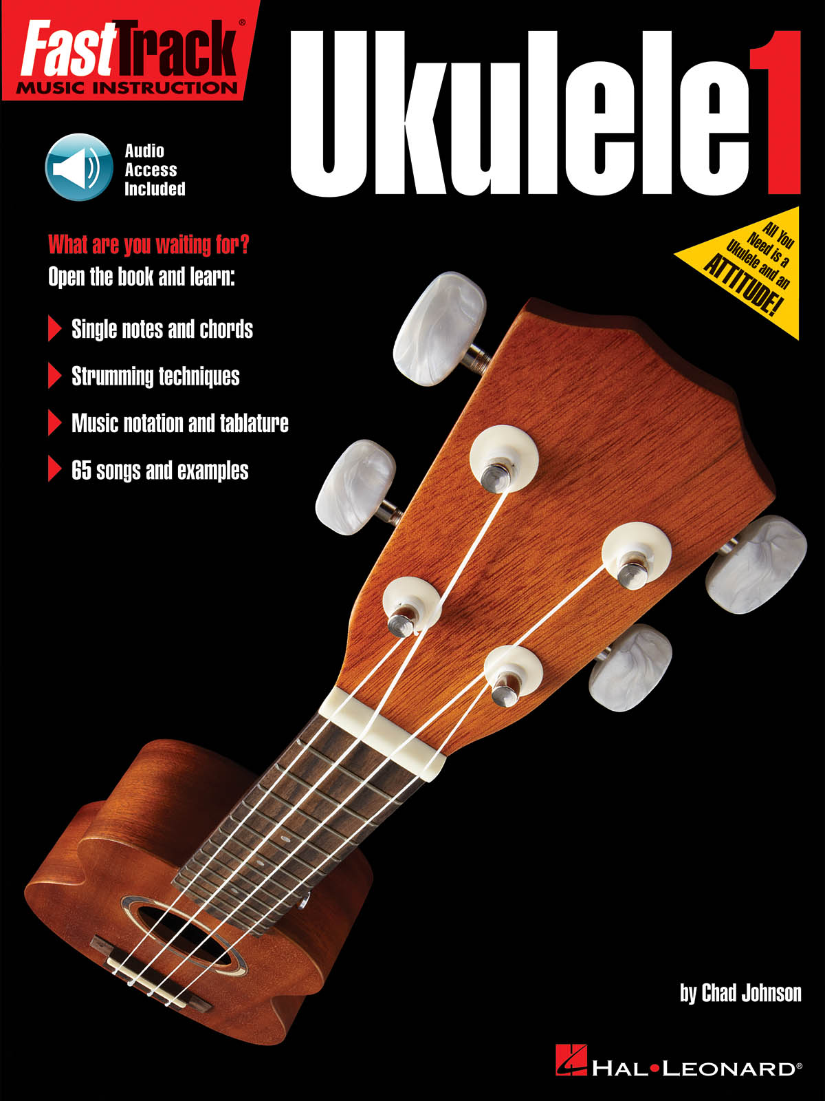 FastTrack - Ukulele Method 1: Ukulele Solo: Instrumental Tutor