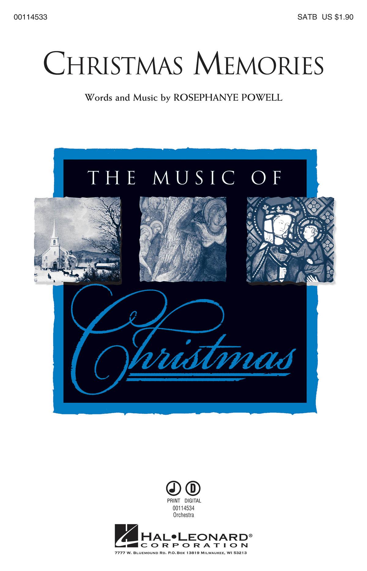 Rosephanye Powell: Christmas Memories: Mixed Choir a Cappella: Vocal Score
