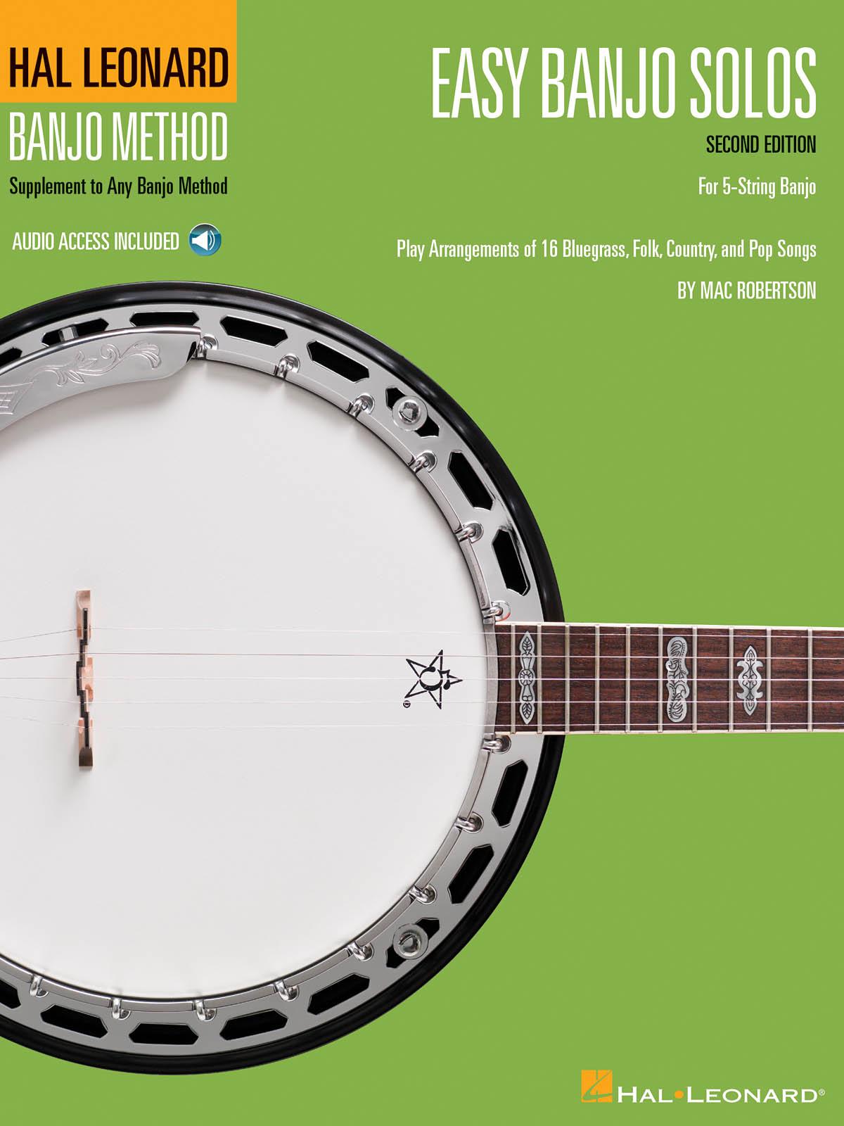 Easy Banjo Solos for 5-String Banjo: Banjo: Mixed Songbook