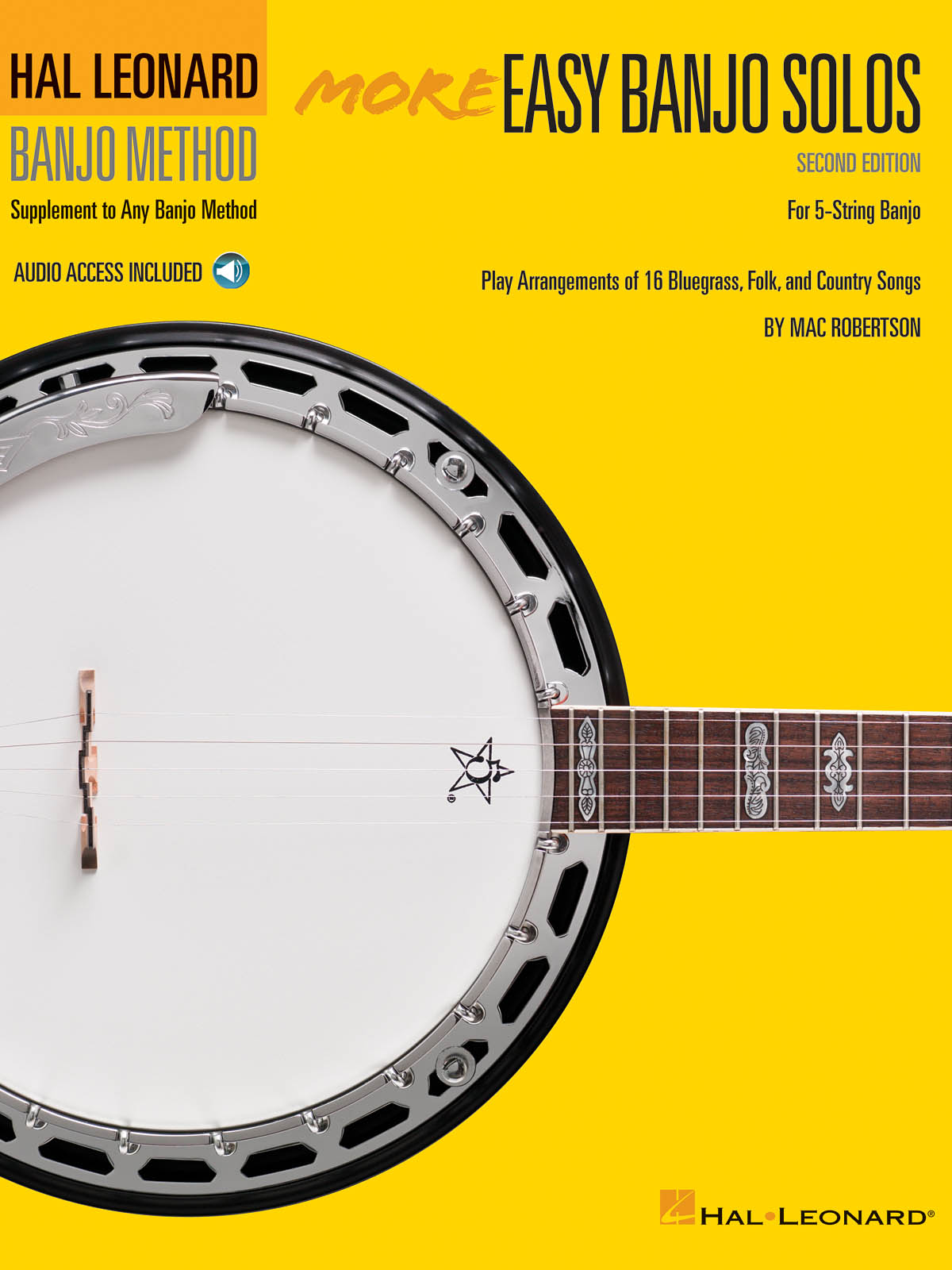 More Easy Banjo Solos - 2nd Edition: Banjo: Instrumental Album