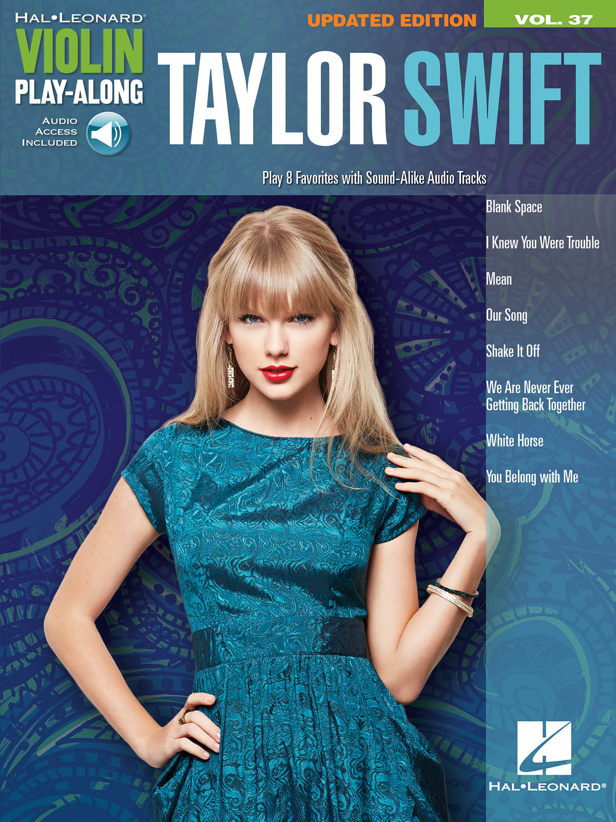 Violin Play-Along Volume 37: Taylor Swift (Book/Online Audio) (Hal Leonard Violin Play Along) (Includes Online Access Code)