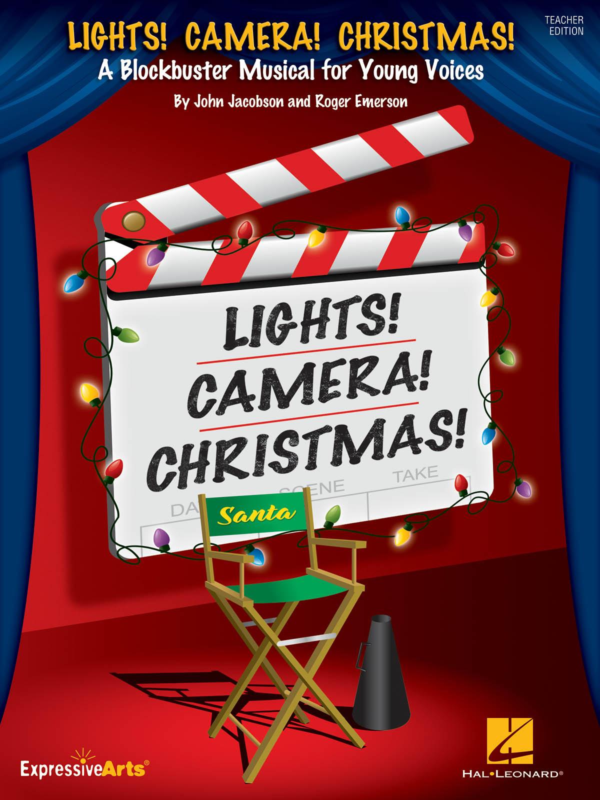 John Jacobson Roger Emerson: Lights! Camera! Christmas!: Mixed Choir a Cappella: