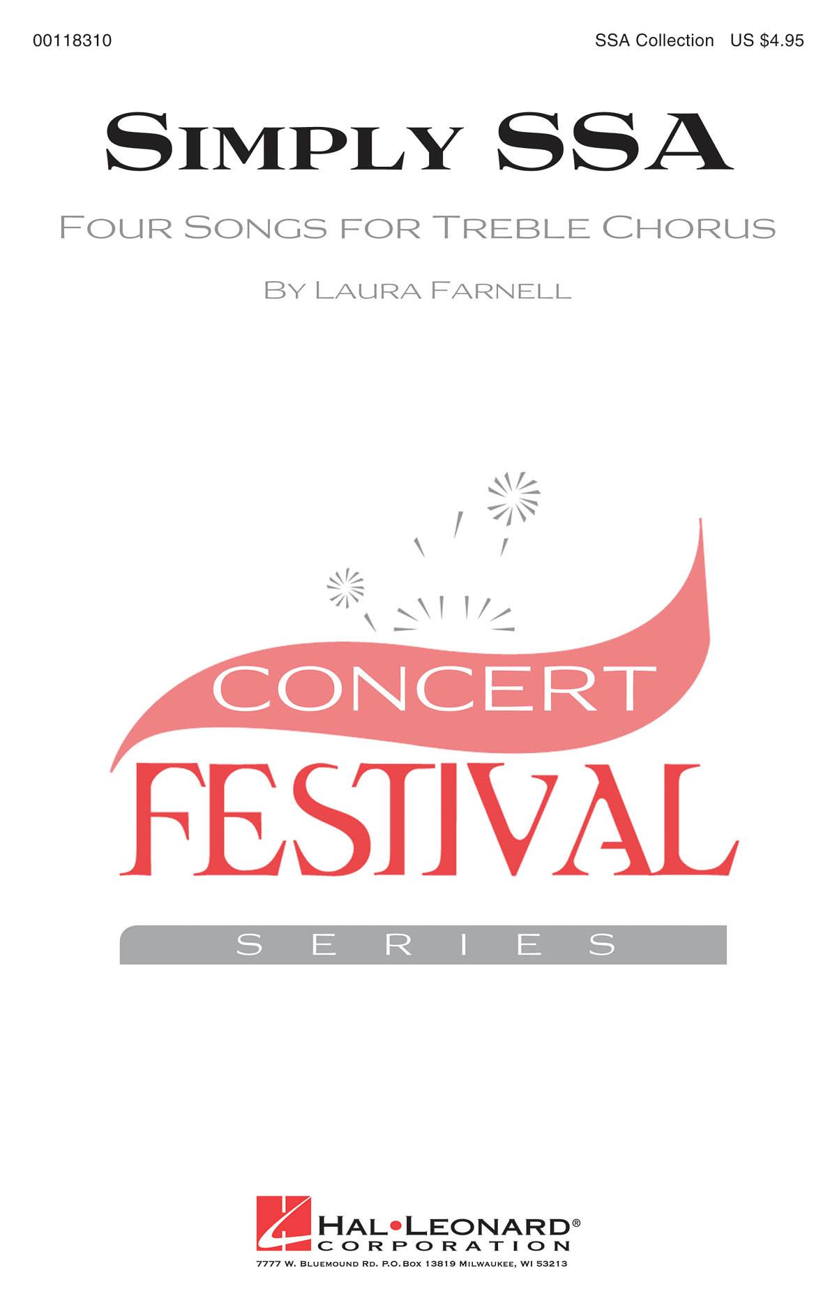 Laura Farnell: Simply SSA: Upper Voices a Cappella: Vocal Score