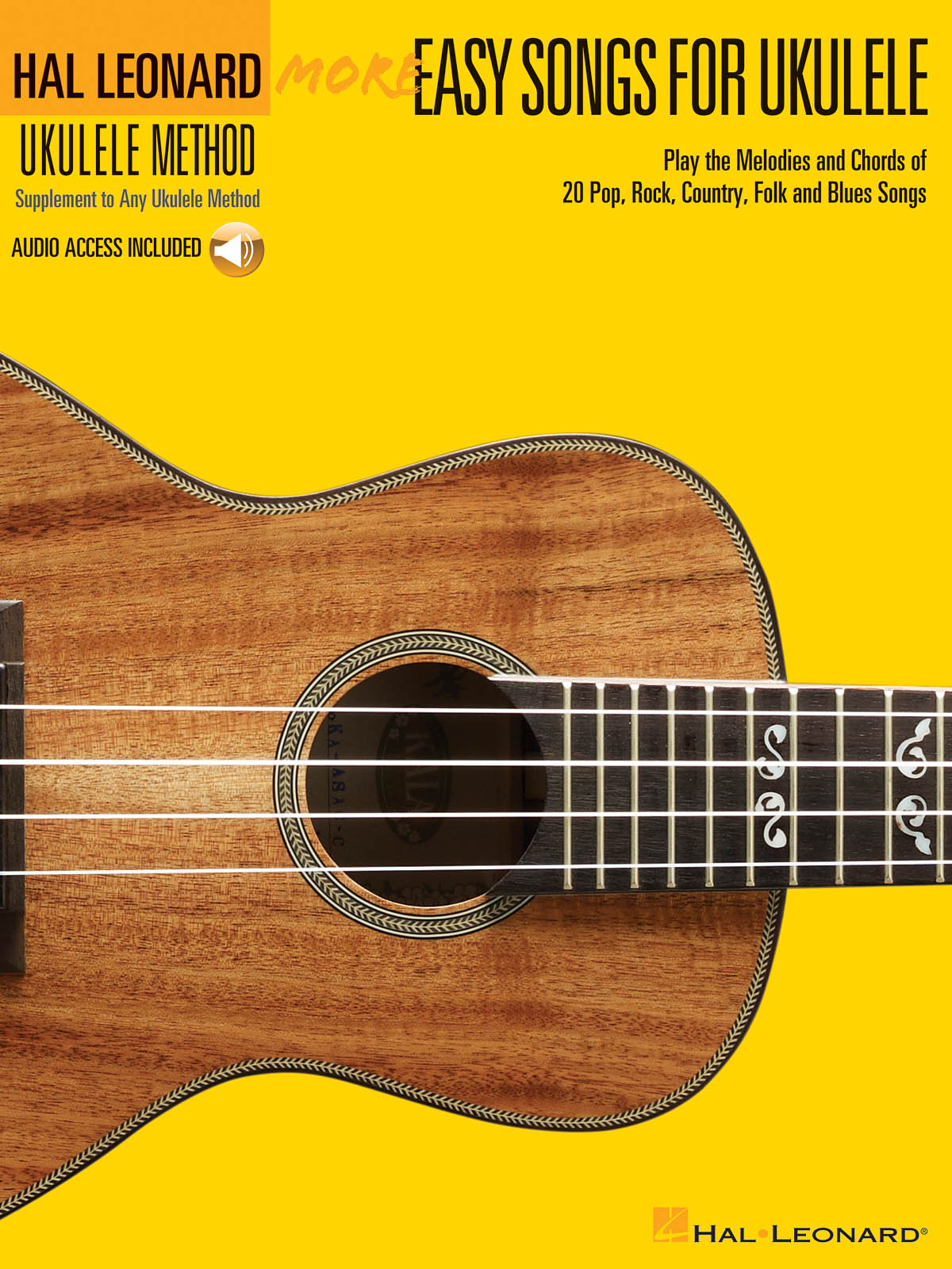 More Easy Songs for Ukulele: Ukulele Solo: Instrumental Album