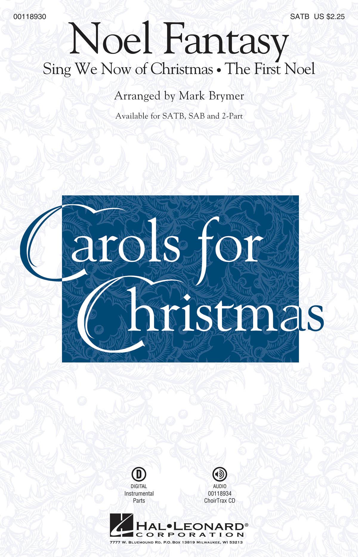 Noel Fantasy: Mixed Choir a Cappella: Vocal Score