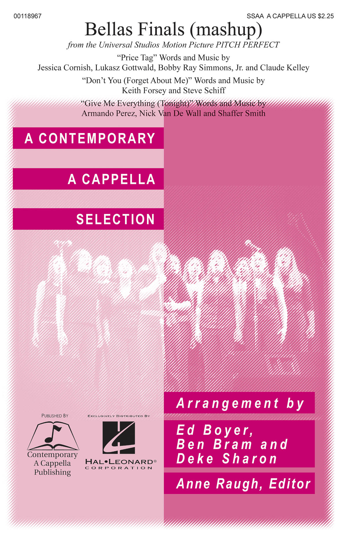 Bellas Finals: Upper Voices a Cappella: Vocal Score