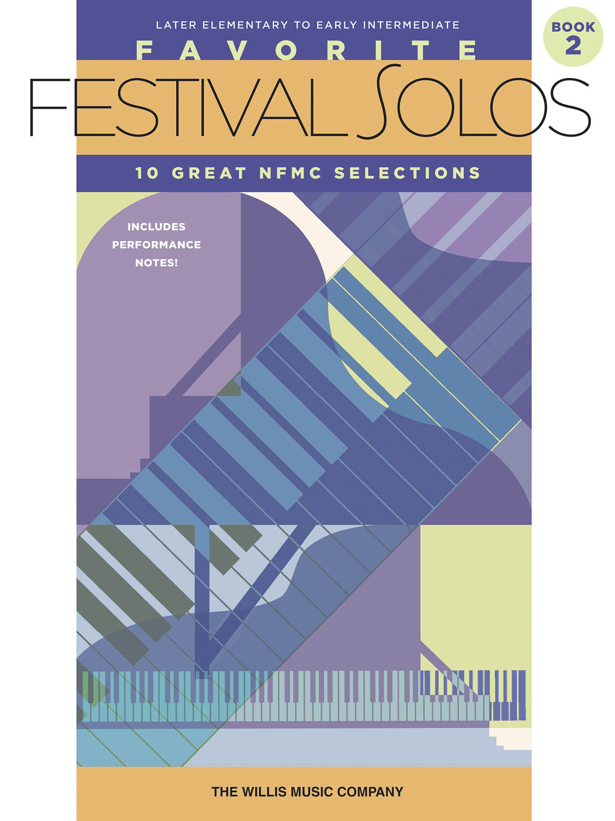 Favorite Festival Solos - Book 2: Piano: Instrumental Album