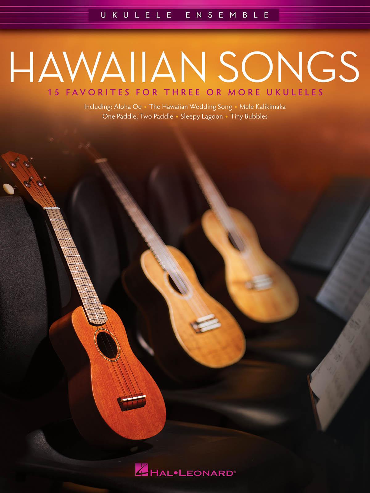 Hawaiian Songs: Ukulele Ensemble: Mixed Songbook