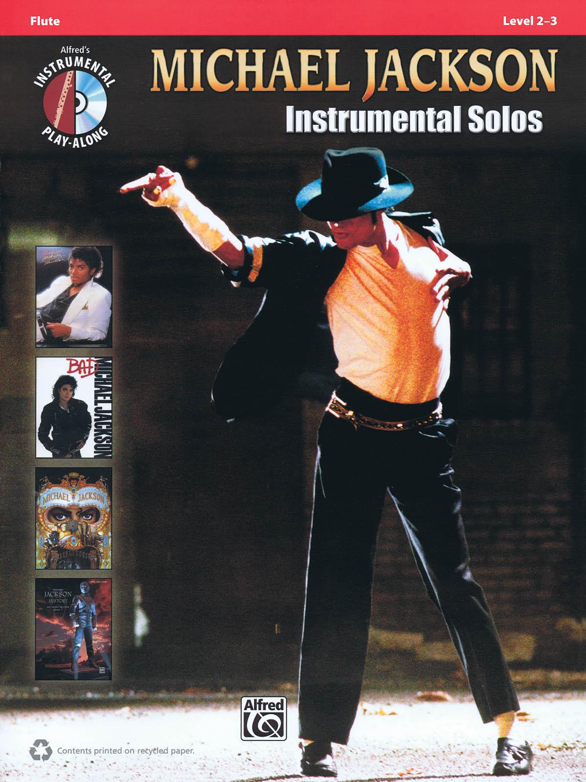 Michael Jackson: Michael Jackson Instrumental Solos Flute: Flute: Instrumental
