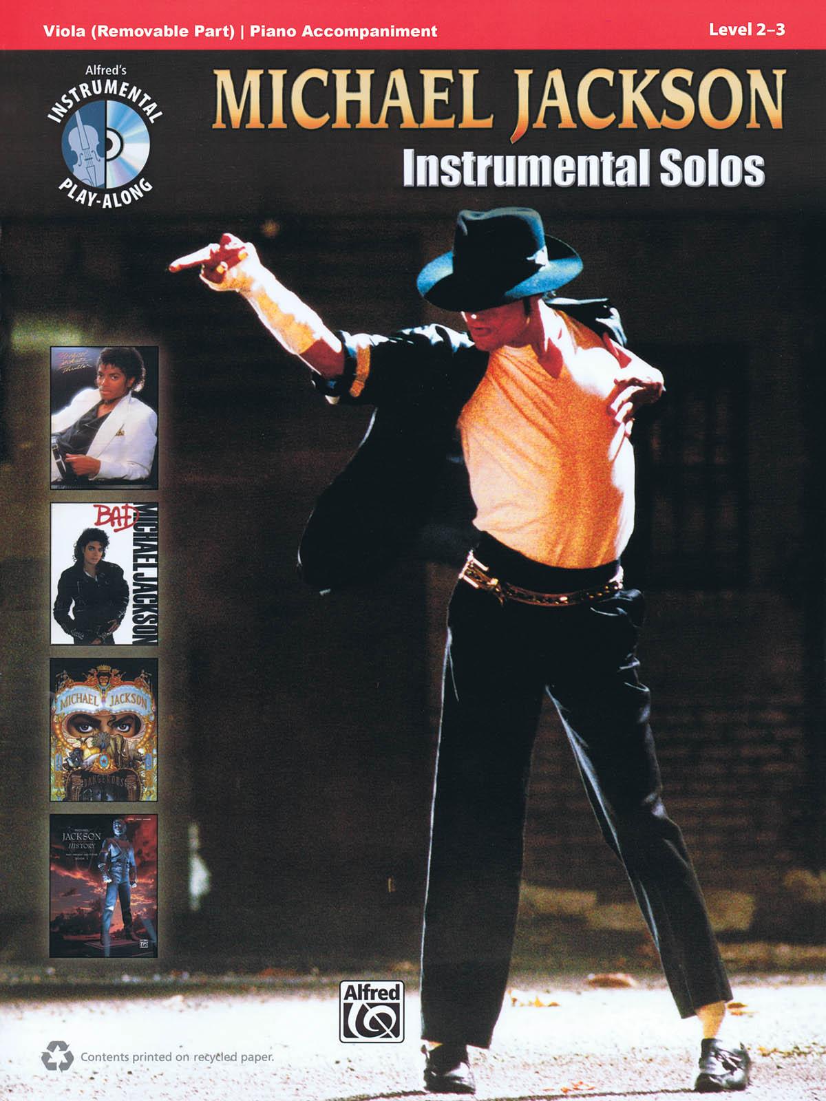 Michael Jackson: Michael Jackson Instrumental Solos Viola: Viola: Instrumental