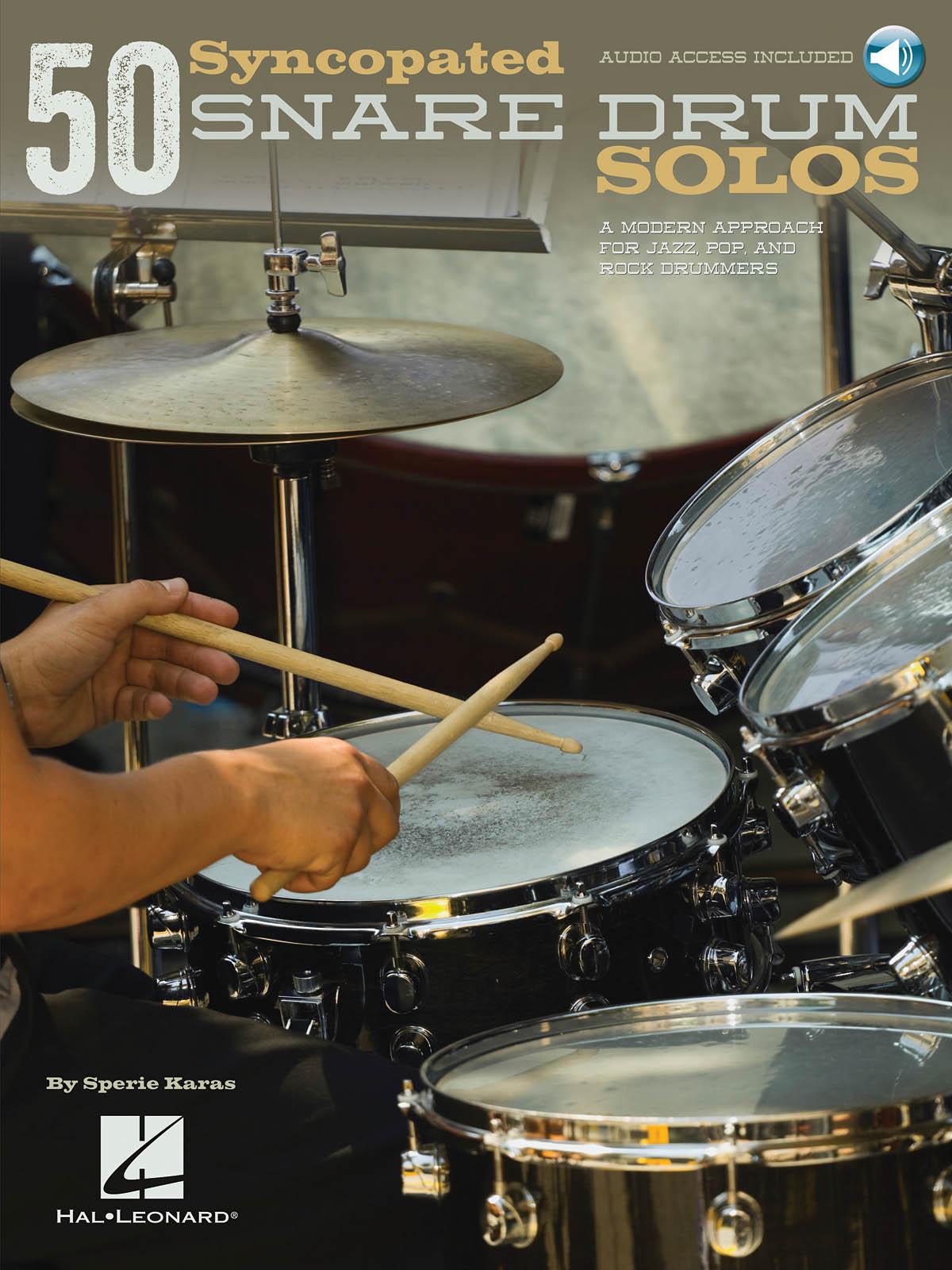 Sperie Karas: 50 Syncopated Snare Drum Solos: Snare Drum: Instrumental Album