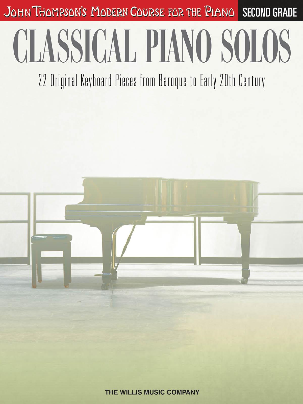 Classical Piano Solos - Second Grade: Piano: Instrumental Album