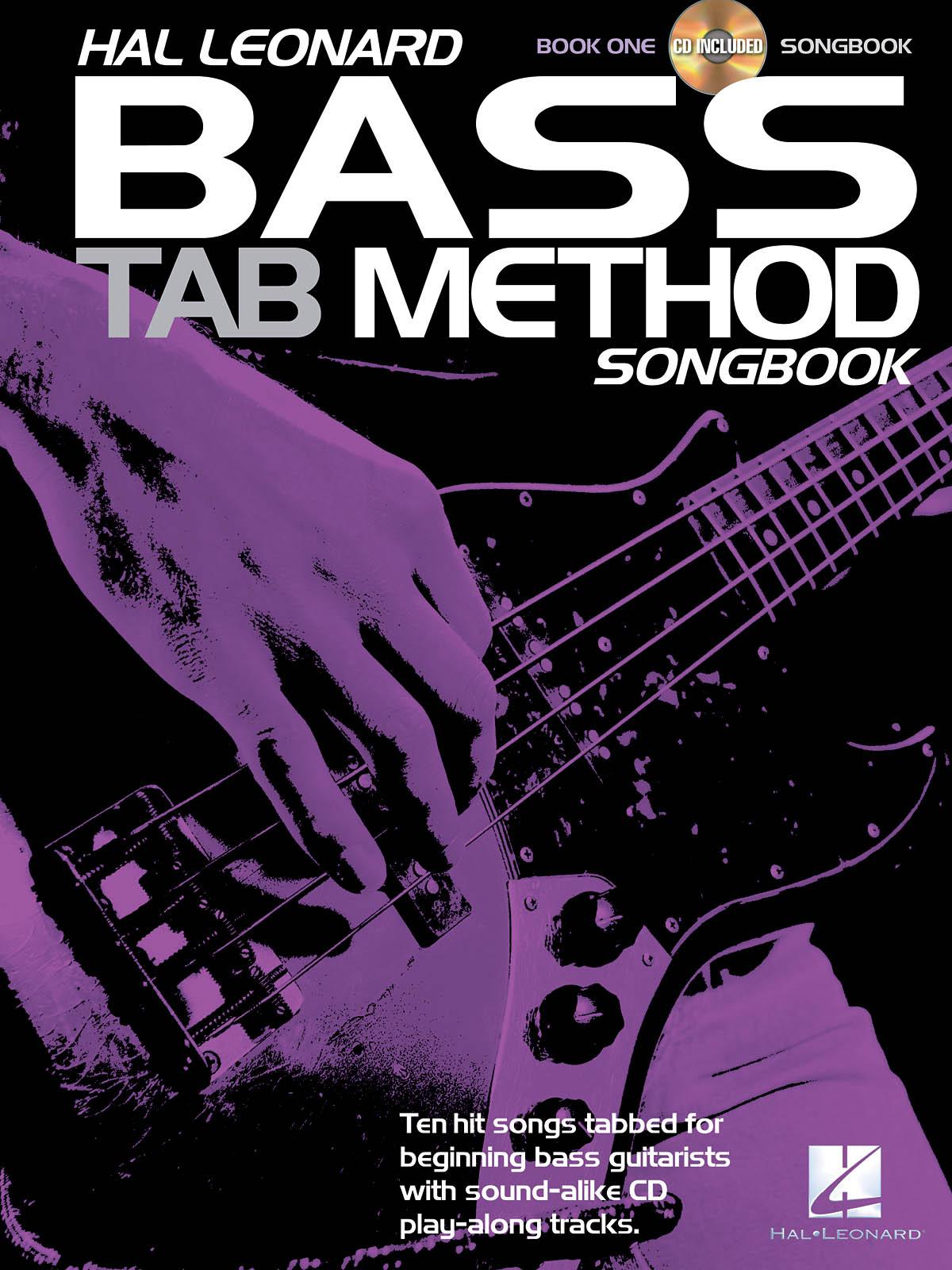 Hal Leonard Bass TAB Method Songbook 1: Bass Guitar Solo: Mixed Songbook
