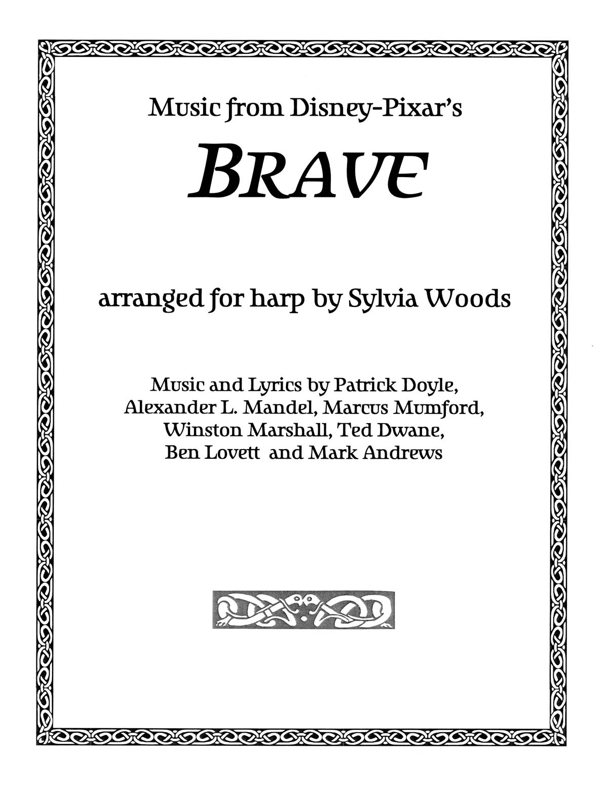 Brave (Music From The Motion Picture): Harp Solo: Instrumental Album