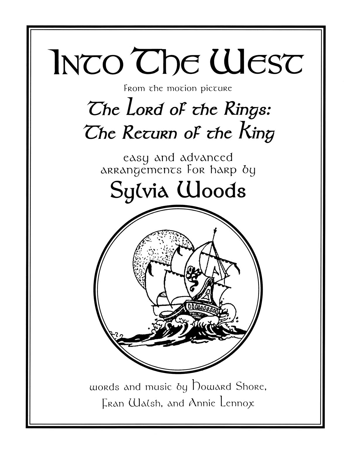 Into the West: Harp Solo: Instrumental Work