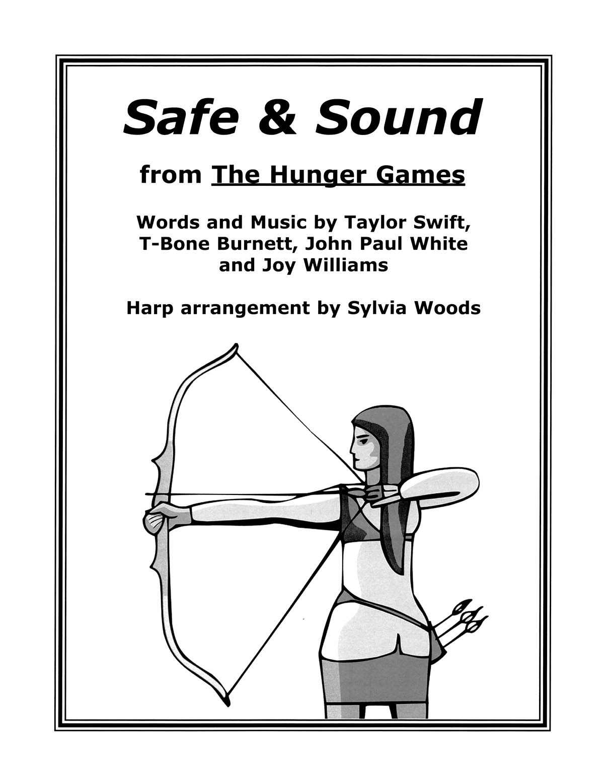 Safe & Sound from The Hunger Games: Harp Solo: Instrumental Album