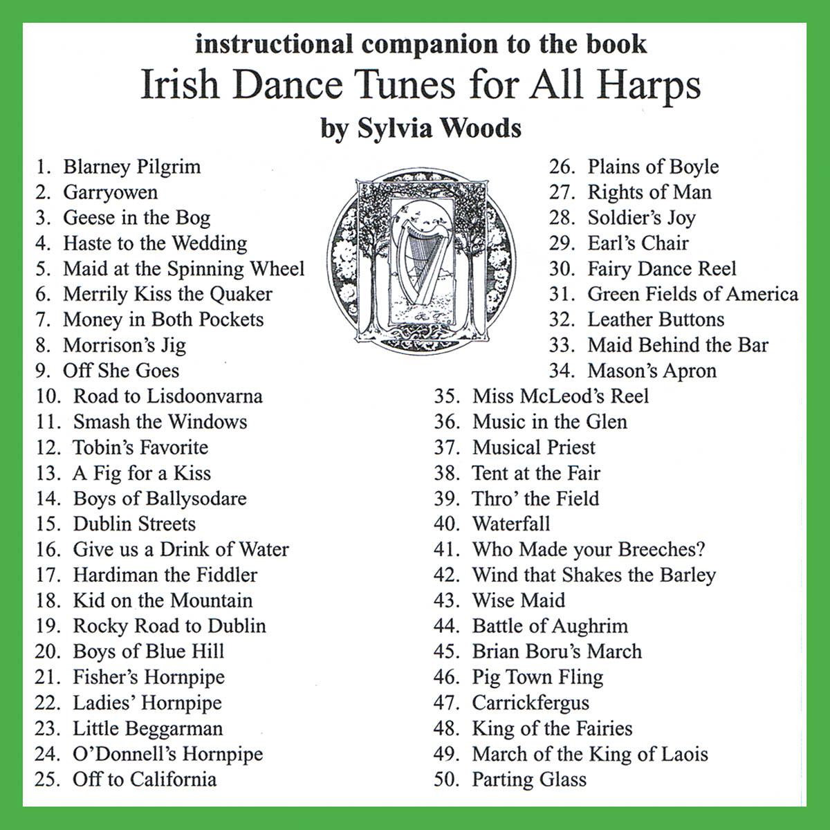 Irish Dance Tunes for All Harps: Harp Solo: CD