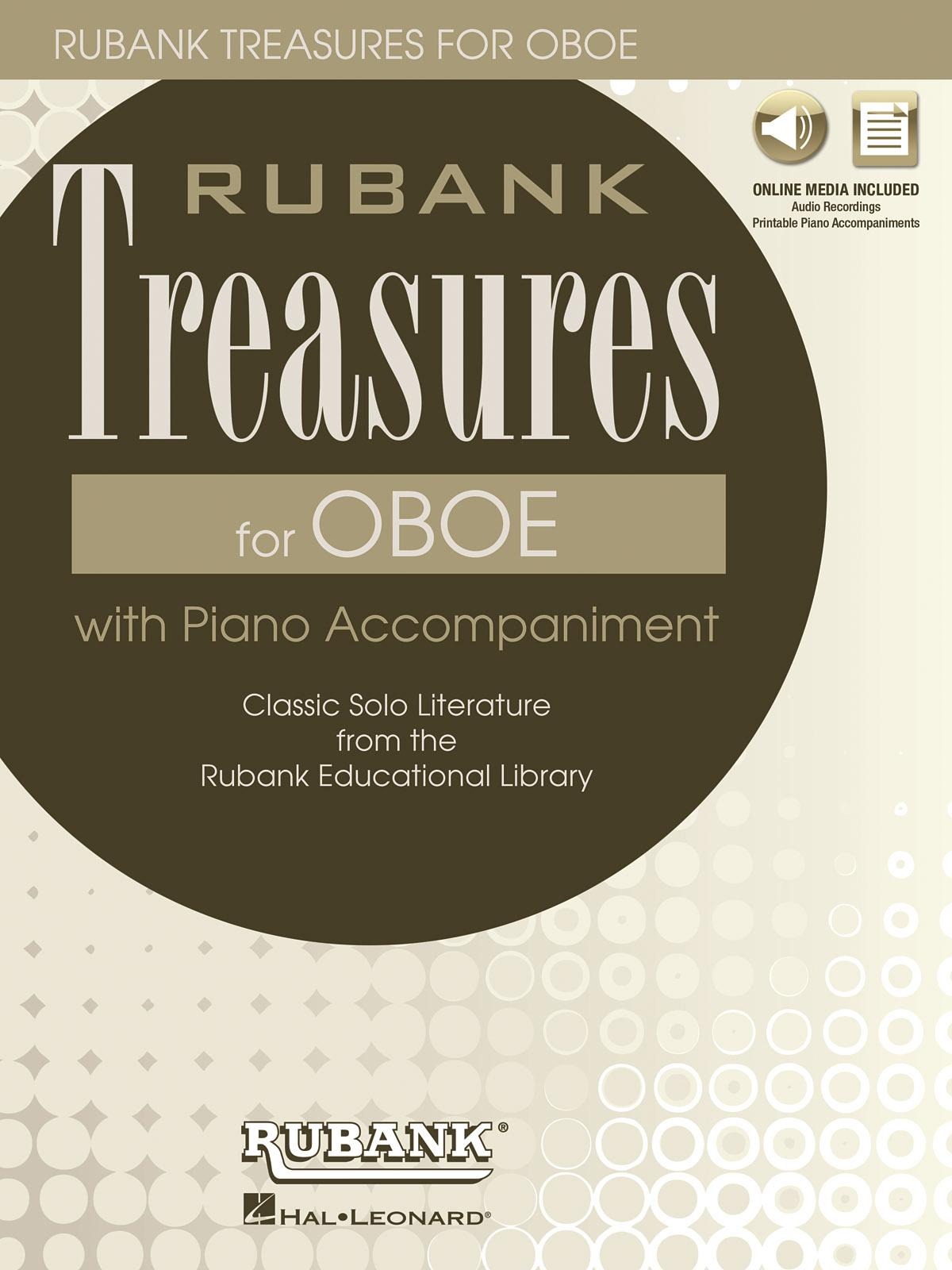 Rubank Treasures for Oboe: Oboe Solo: Instrumental Album