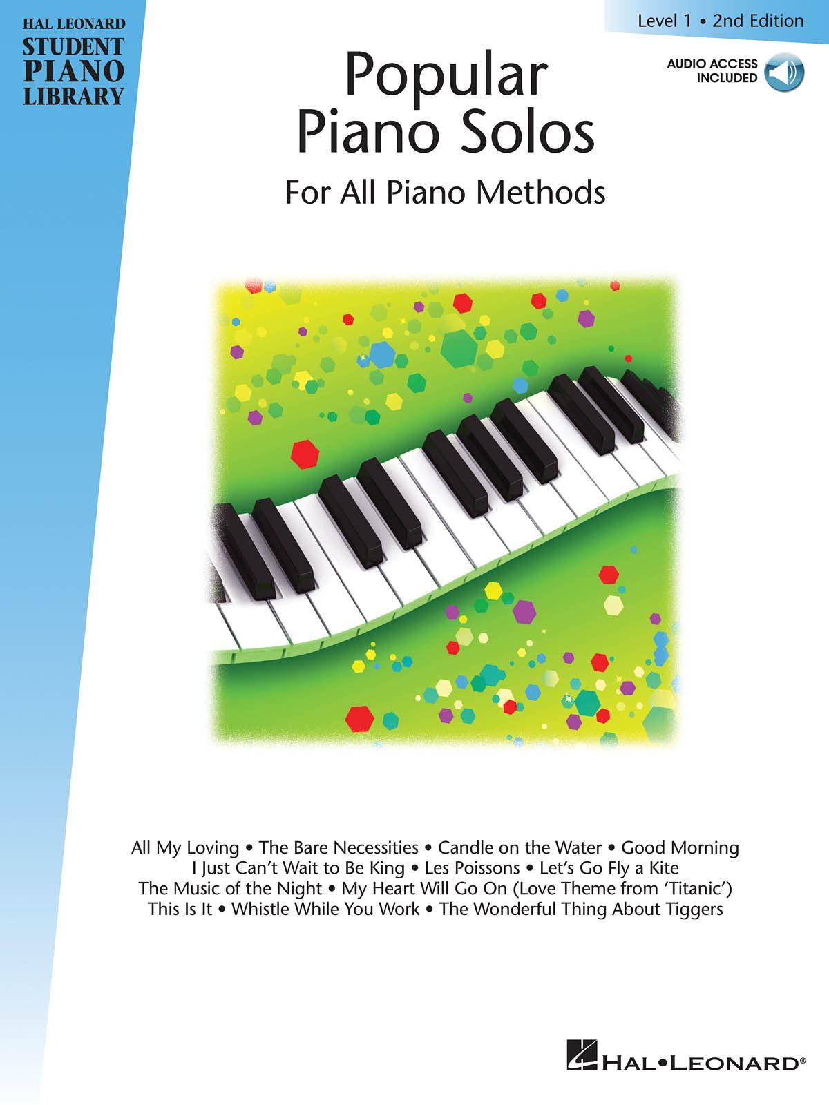 Popular Piano Solos 2nd Edition - Level 1: Piano: Instrumental Album