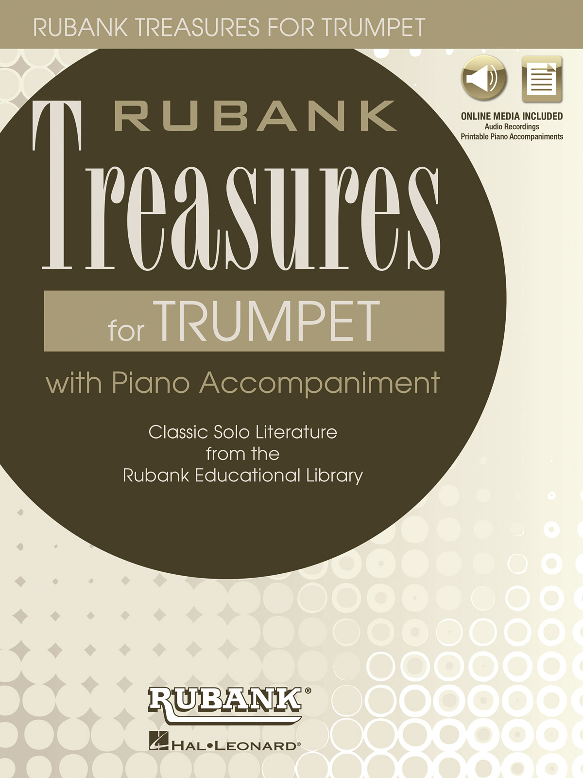 Rubank Treasures for Trumpet: Trumpet Solo: Instrumental Album