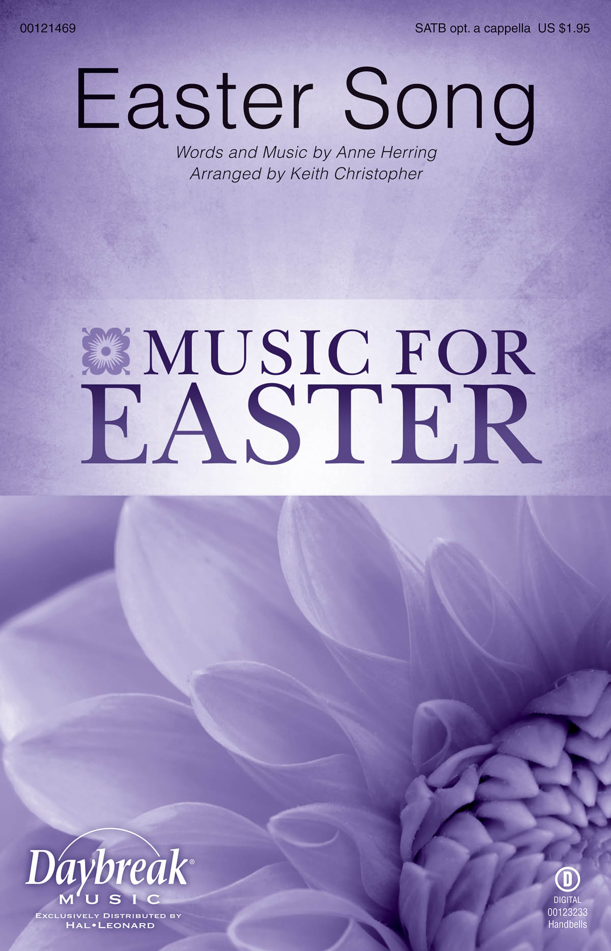 Anne Herring: Easter Song: Mixed Choir a Cappella: Vocal Score