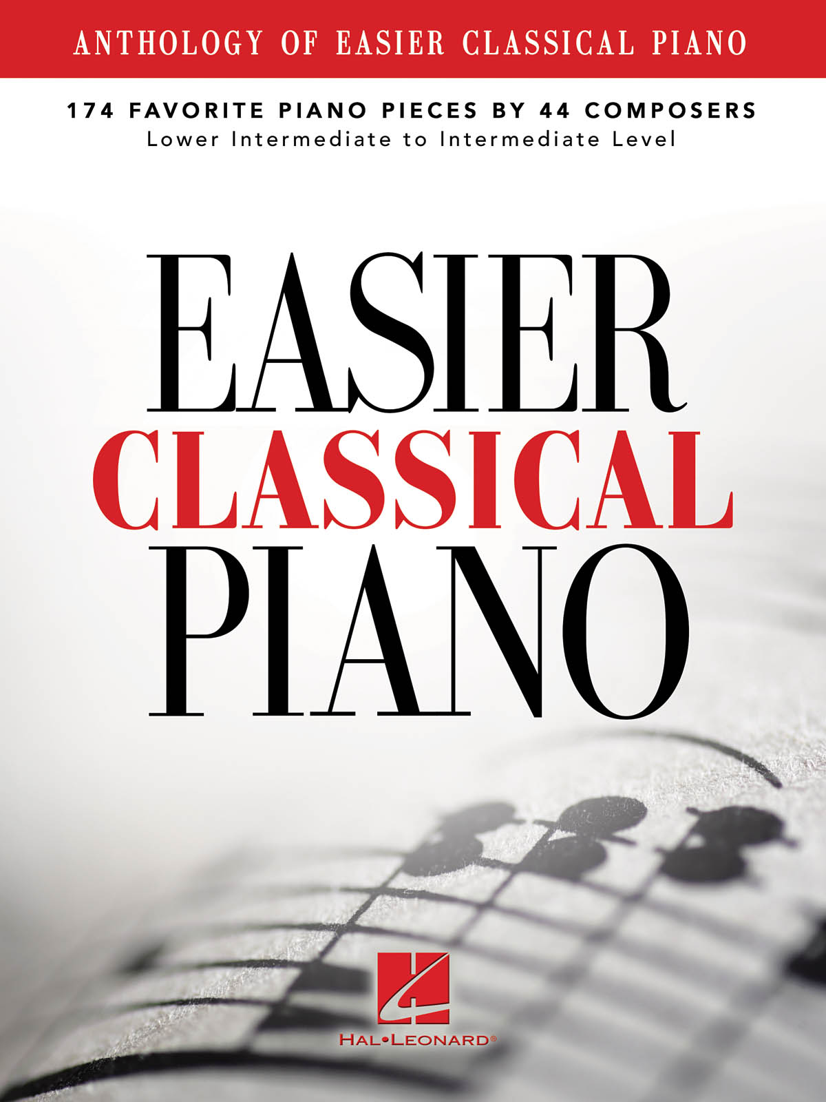 Anthology Of Easier Classical Piano: Piano: Instrumental Album