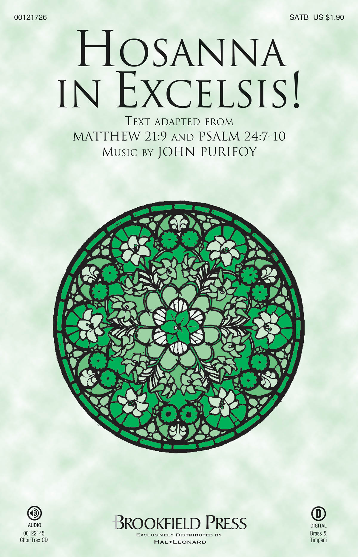 John Purifoy: Hosanna in Excelsis!: Mixed Choir a Cappella: Vocal Score