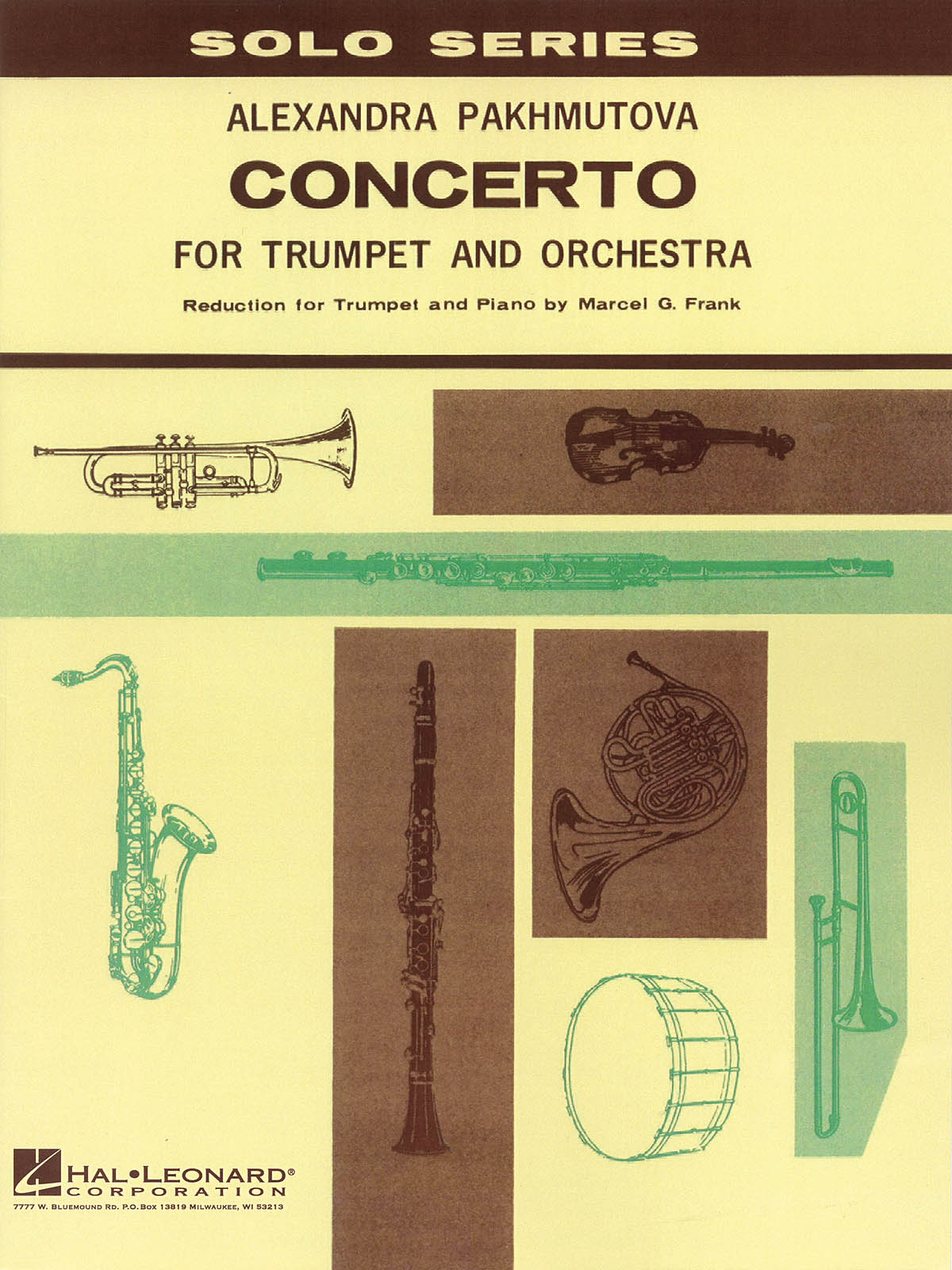 Alexandra Pakhmutova: Concerto For Trumpet And Orchestra: Trumpet and Accomp.: