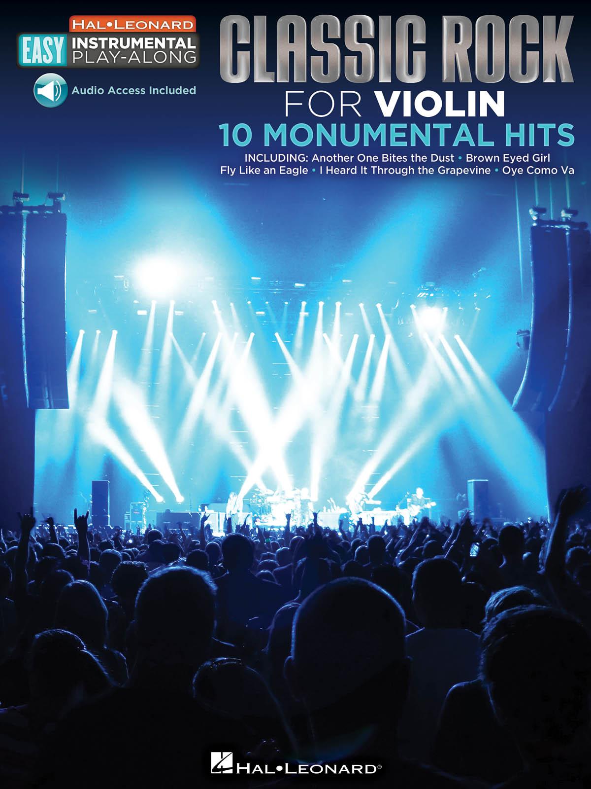 Easy Instrumental Play-Along: Classic Rock: Violin Solo: Instrumental Album