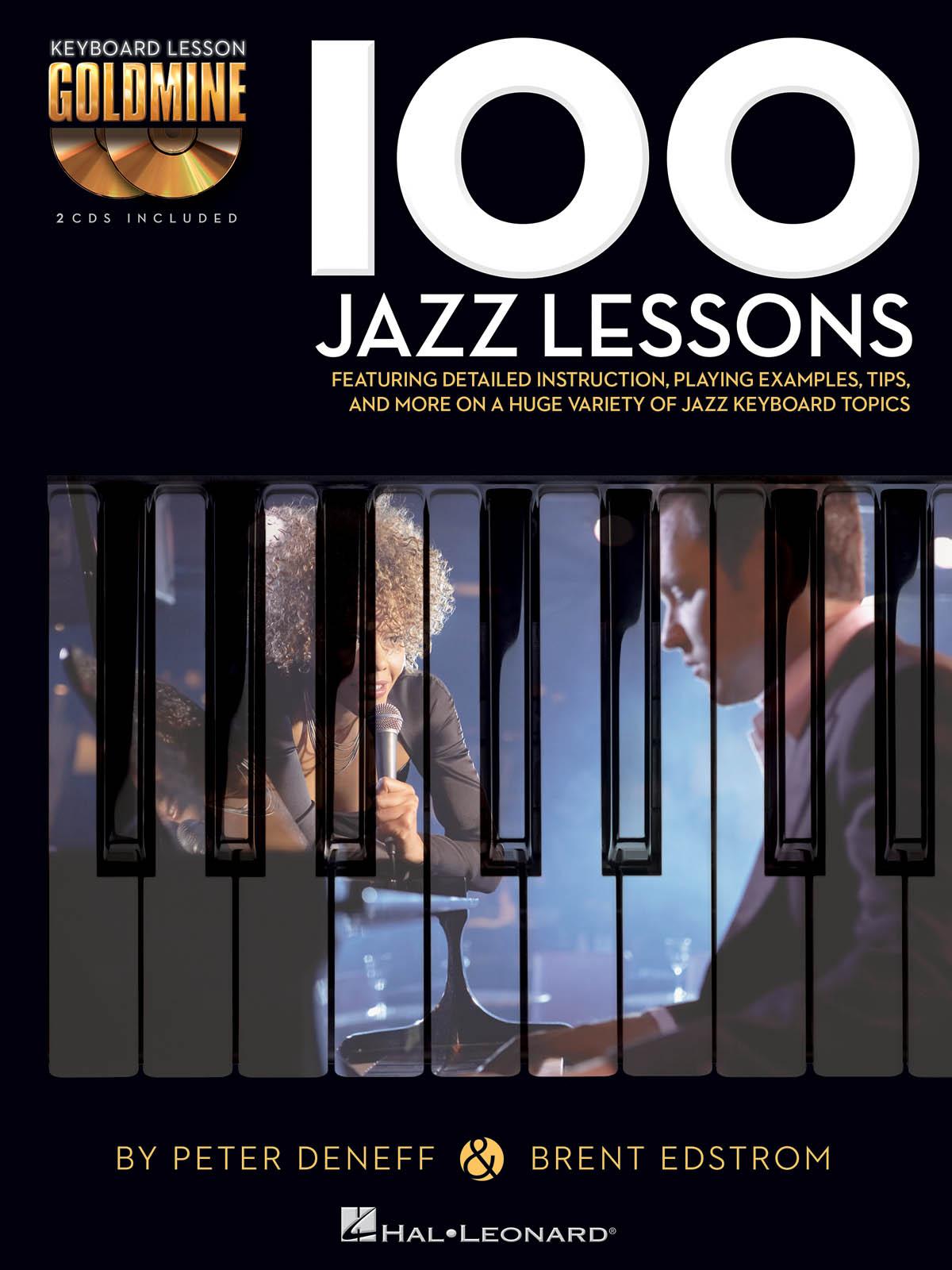 100 Jazz Lessons: Piano: Instrumental Album