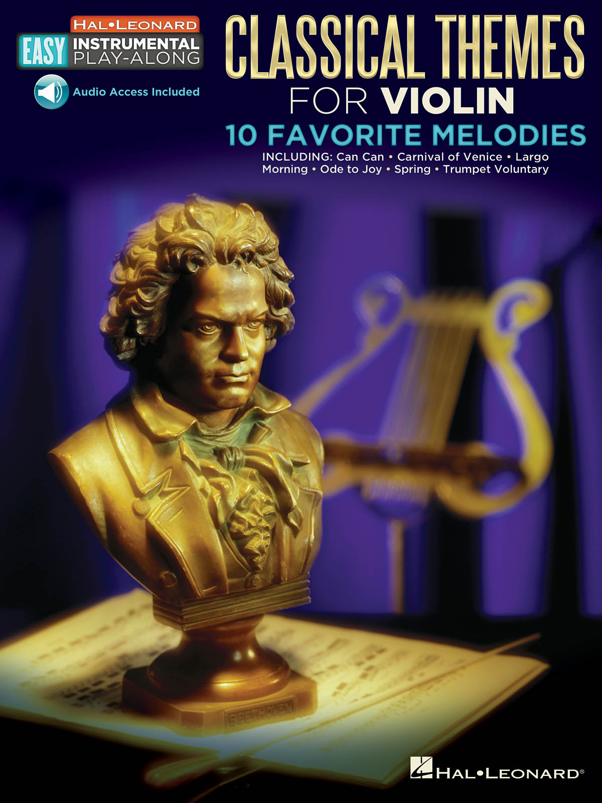 Easy Instrumental Play-Along: Classical Themes: Violin Solo: Instrumental Album