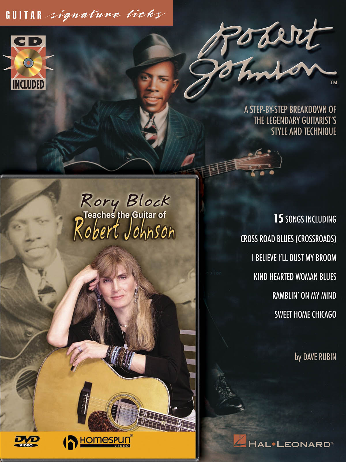 Robert Johnson: Robert Johnson Bundle Pack: Guitar Solo: Instrumental Album