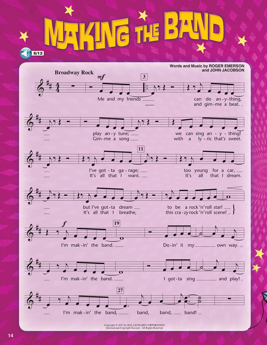 Making the Band: Children's Choir: Classroom Musical