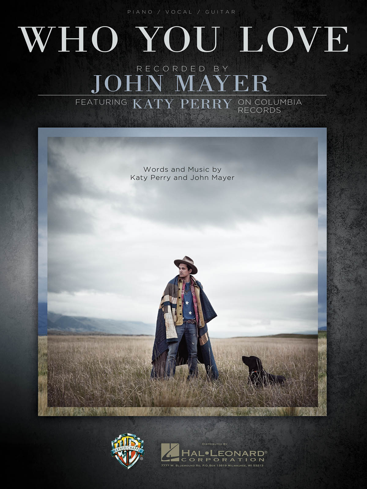 John Mayer: Who You Love: Piano  Vocal and Guitar: Mixed Songbook