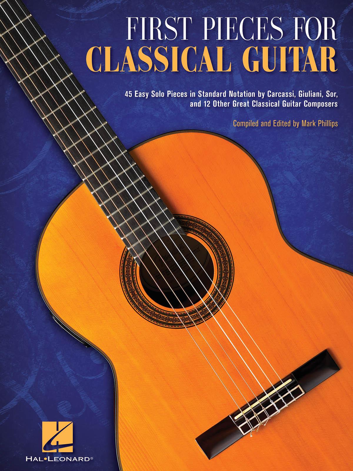 First Pieces for Classical Guitar: Guitar Solo: Instrumental Album