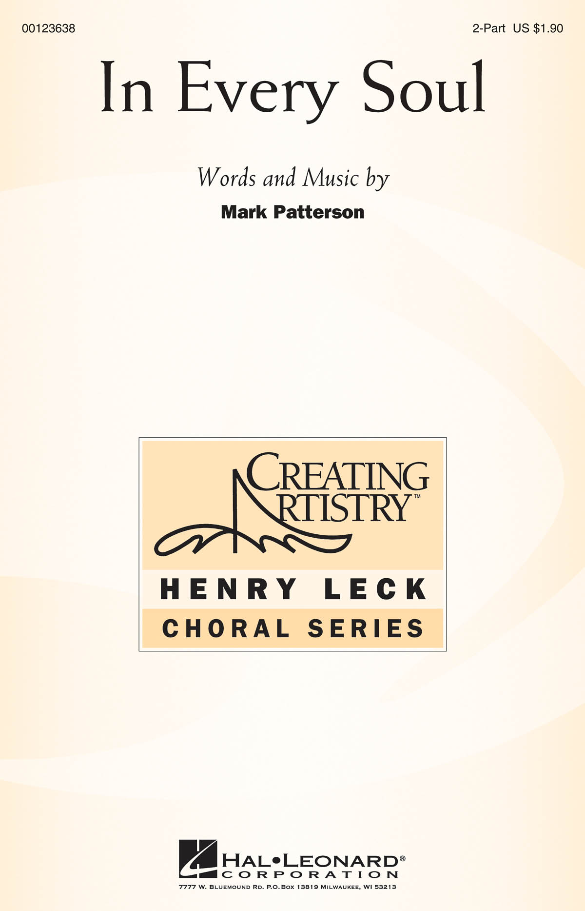 Mark Patterson: In Every Soul: Mixed Choir a Cappella: Vocal Score