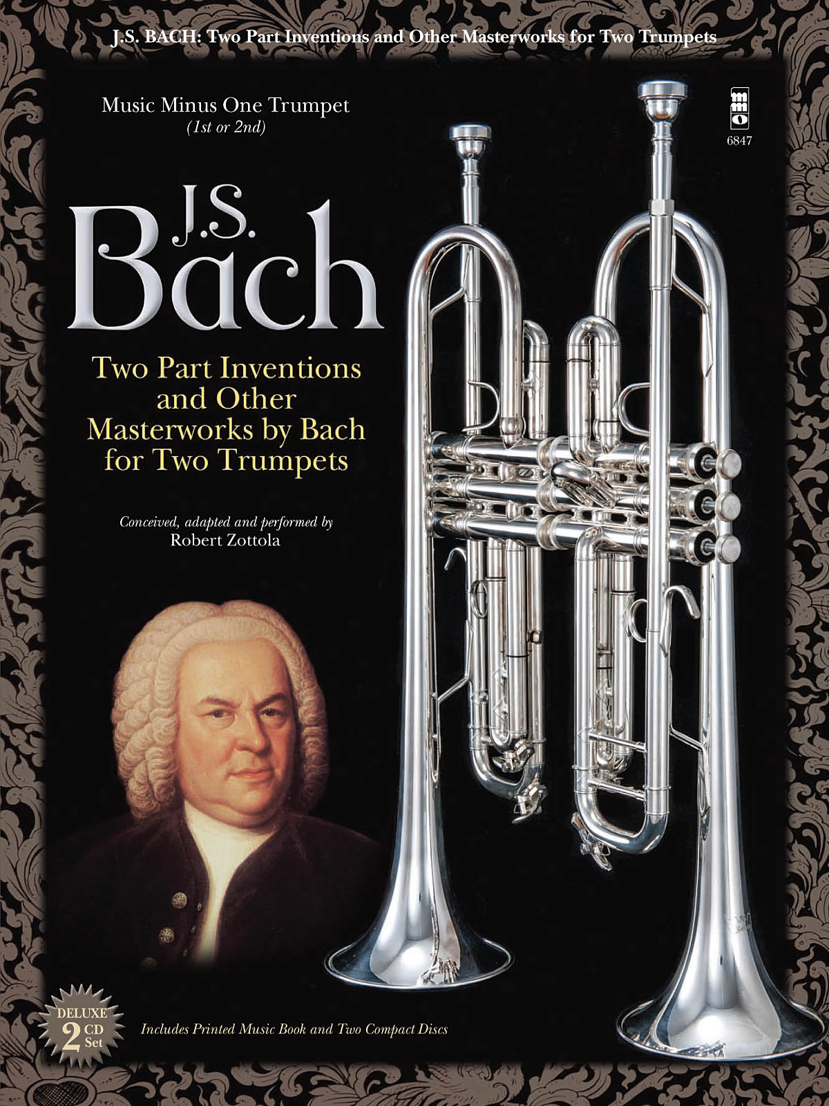 Johann Sebastian Bach: Two-Part Inventions for Two Trumpets: Trumpet Duet