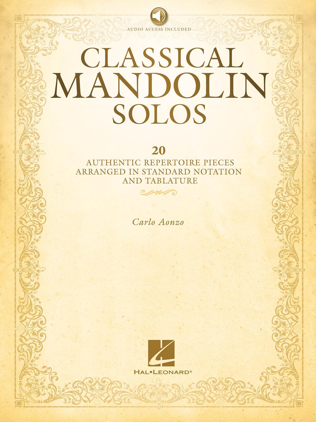 Classical Mandolin Solos: Mandolin: Instrumental Work