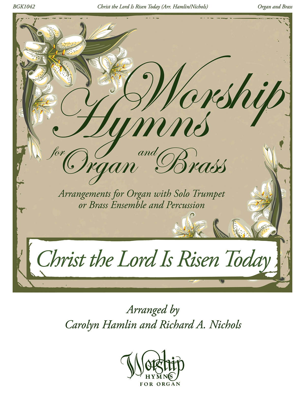 Christ the Lord Is Risen Today: Brass Ensemble: Parts