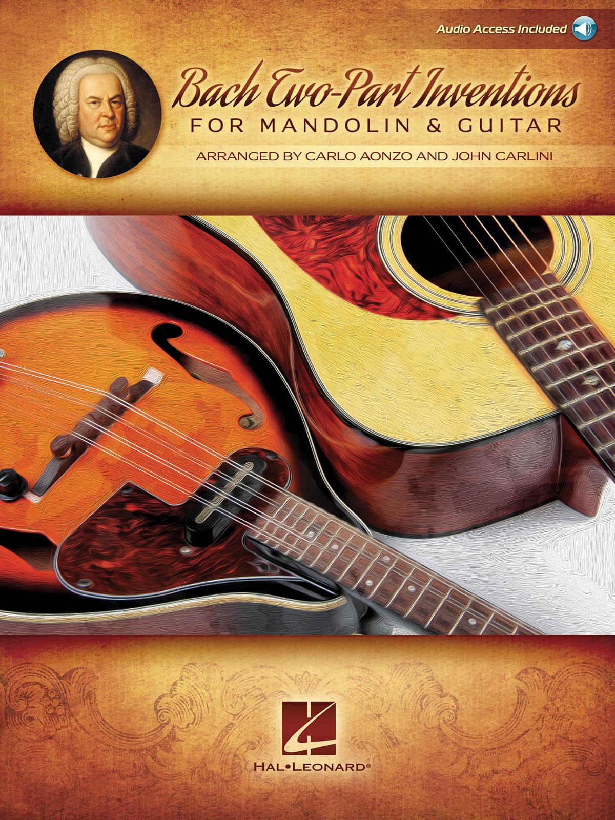 Bach Two-Part Inventions for Mandolin & Guitar: Mandolin: Instrumental Album