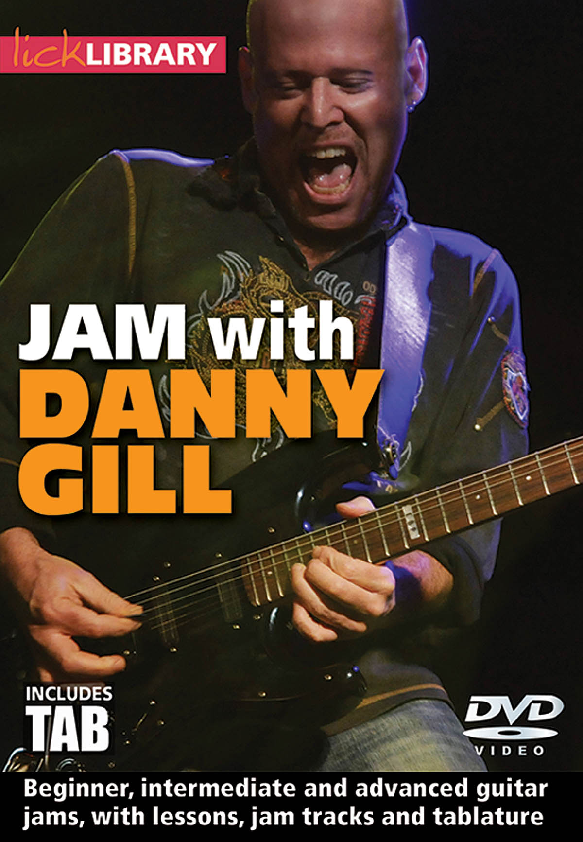Jam with Danny Gill: Guitar Solo: DVD