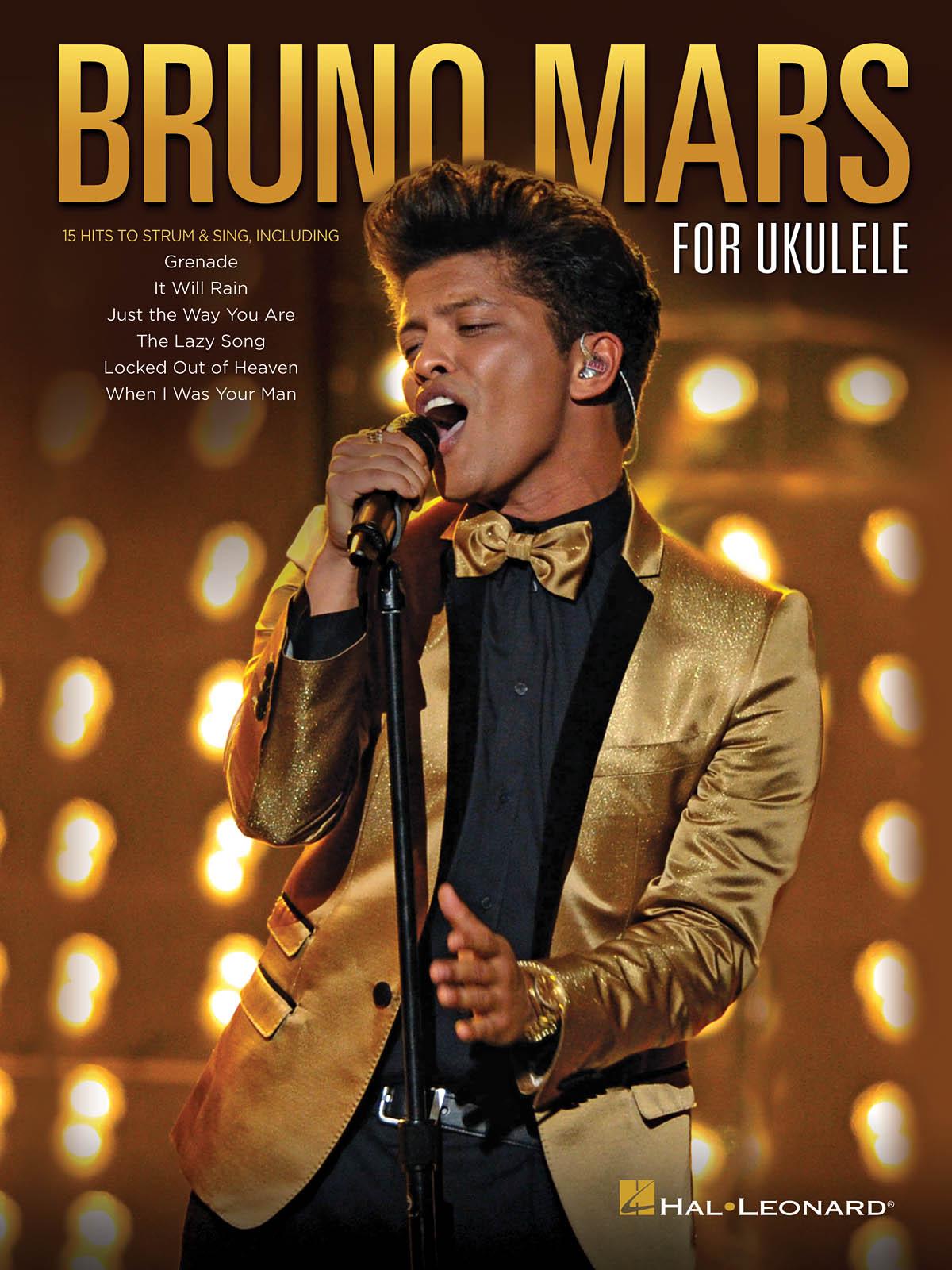 Bruno Mars: Bruno Mars for Ukulele: Ukulele Solo: Artist Songbook