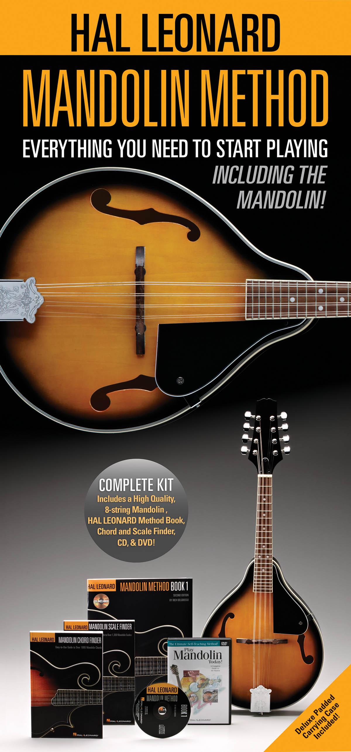 Hal Leonard Mandolin Method Pack: Mandolin: Instrumental Album