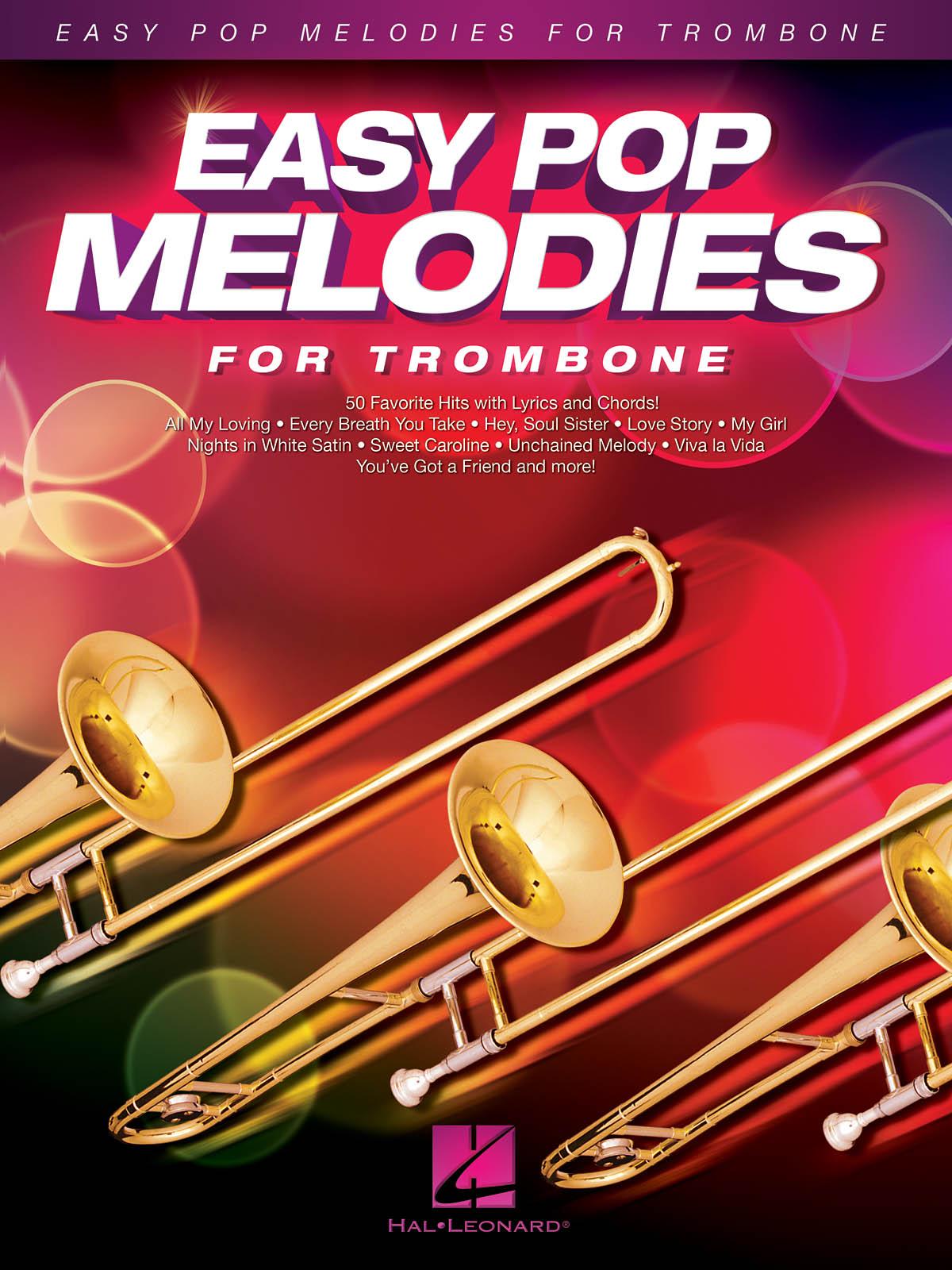 Easy Pop Melodies: Trombone Solo: Instrumental Album