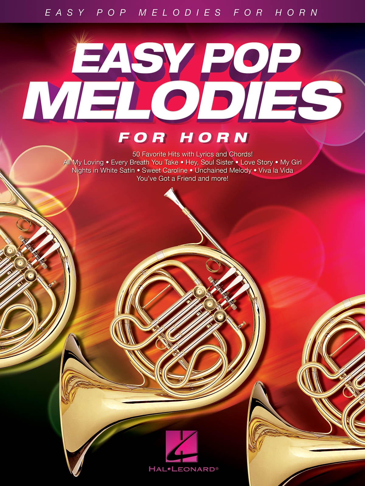 Easy Pop Melodies - for Horn: French Horn Solo: Instrumental Album